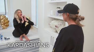 KUWTK | Khloé Kardashian Finds Out She's Pregnant --OMG! | E! - EENTERTAINMENT
