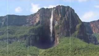 أطول شلالات العالم شلالات آنجل في فنزويلا