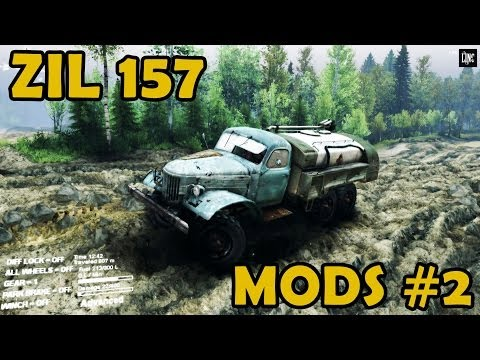 Spin Tires|Mod Review #2 - ZIL 157