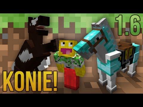Przegląd Minecraft 1.6: KONIKI! (Snapshot 13w16a)