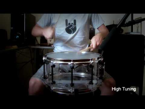 "Acrylic 14x7"" Custom Snare (Sound Check)"
