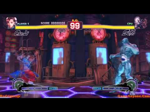 Super Street Fighter IV Arcade Mode (Chun-Li Pt. 3/3)