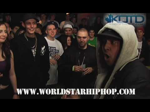 KOTD - Rap Battle - FeelGood vs Loe Pesci
