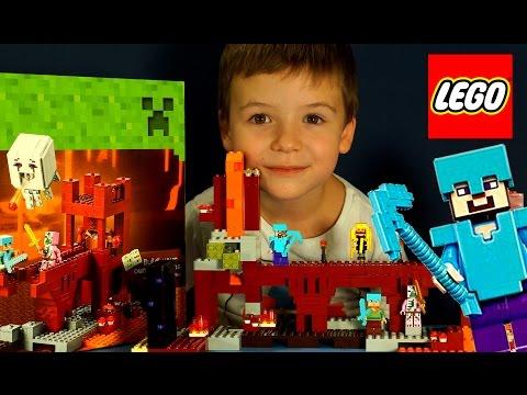 Лего Мультик на русском языке Lego Stop Motion