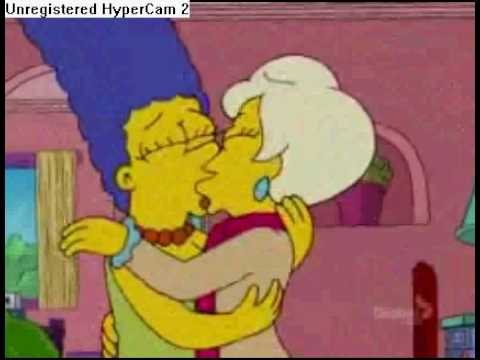 El beso de Marge