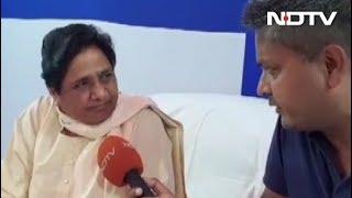 मायावती बोलीं, 'न BJP के साथ जाएंगे, न कांग्रेस के साथ' - NDTVINDIA