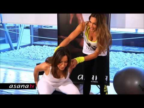 Πρόγραμμα γυμναστικής για εγκύους με την Ε.Πετρουλάκη (7+mins)