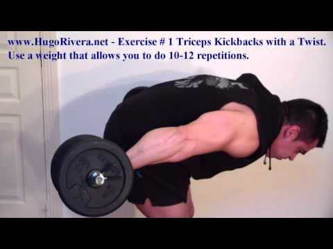 7-Min Home Triceps Workout Routine
