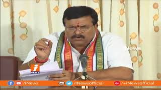 Congress MLC Ponguleti Sudhakar Criticizes CM KCR Over Comments On Opposition | iNews - INEWS