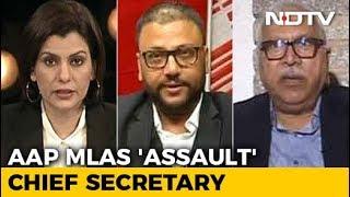 AAP vs Chief Secretary: Delhi Caught In Crossfire? - NDTV