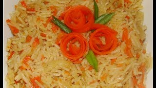 Carrot Fried Rice..