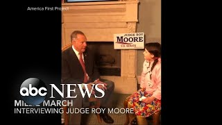 Roy Moore gives new interview to preteen - ABCNEWS