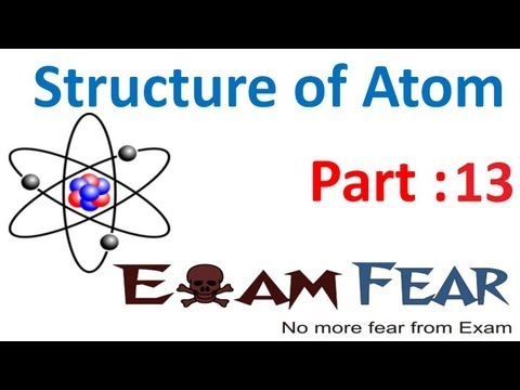 Chemistry Structure of Atom part 13 (Wave nature of electron) CBSE class 11 XI