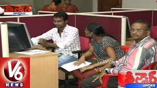 Engineering students apply for jobs without streame due to crisis - Teenmaar News - V6NEWSTELUGU