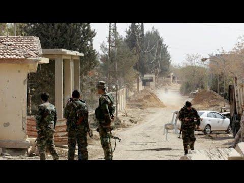 سوريا: أول عملية إجلاء لمقاتلين ومدنيين تنطلق في الغوطة الشرقية - عرب توداي