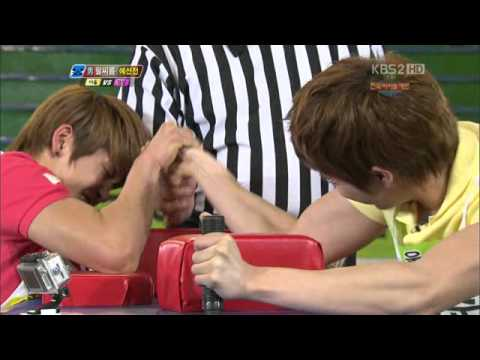 [110507] 100 Points Out Of 100 National Idol Star Sports Festival Special Episode 24 2/5