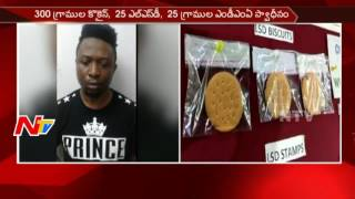 Task Force Police Busted another Drugs Gang in Hyderabad || 2 Nigerians Arrested || NTV - NTVTELUGUHD