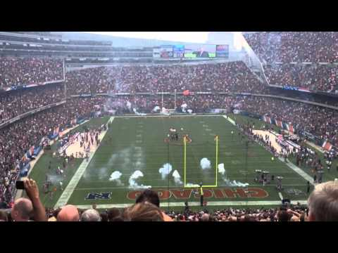 Chicago Bears 2013 Opener National Anthem