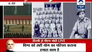 PM Modi remembers his NCC days as he attends cadets' parade - ABPNEWSTV