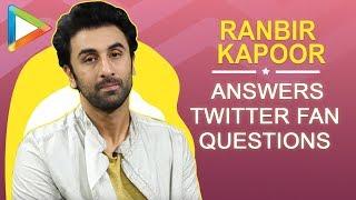 "Ranbir Kapoor: ""I want to be Amitabh Bachchan's BEST FRIEND"" | Twitter Fan Questions | Sanju - HUNGAMA"