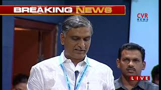 Harish Rao Speech National Convention on Rejuvenation of Krishna River | Khairatabad | CVR NEWS - CVRNEWSOFFICIAL