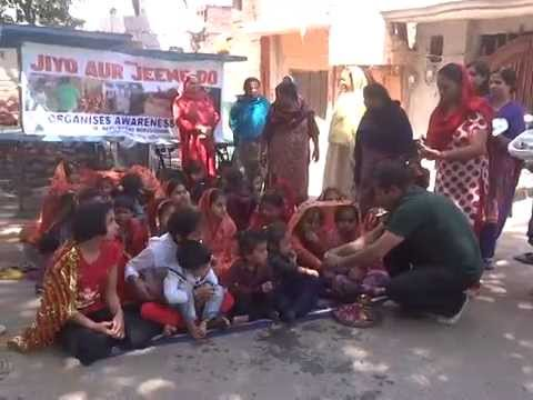 kashmir ngo 'jajd organized a programme on the pious occasion of Ramnavami and Navratras.