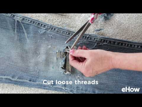 How to Make Perfect Ripped Jeans