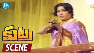 Kutra Movie Scenes - Arjun Goes To Meet Vijayanthi Devi || Arjun, Mahalaxmi, Purnima - IDREAMMOVIES