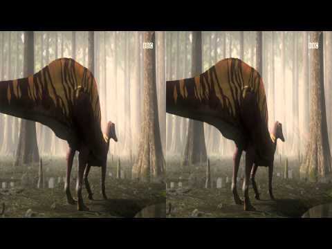 BBC Freeview HD 3D Preview :- Planet Dinosaur