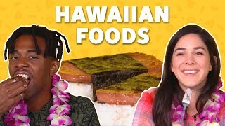 We Tried Hawaiian Foods | TASTE TEST - FOODNETWORKTV