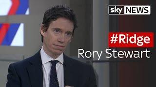 #Ridge: Rory Stewart, Minister for International Development - SKYNEWS