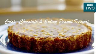 Crisp, Chocolate & Salted Peanut Dessert | Nadiya's British Food Adventure: Episode 3 - BBC Two - BBC