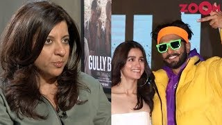 Gully Boy director Zoya Akhtar talks about Ranveer Singh's transformation into Murad | Exclusive - ZOOMDEKHO