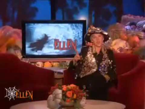 Ellen's Scaring People!