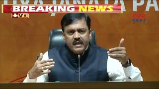 BJP MP GVL Narasimha Rao Fires On TDP over No Confidence Motion | CVR News - CVRNEWSOFFICIAL