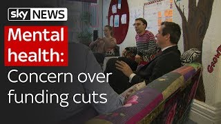 Mental health: Young people's concern over funding cuts - SKYNEWS