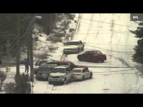 Icy Sliding - The wonderful, horrible works of frozen, icy roads :)