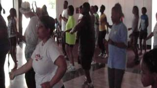 Cupid Shuffle Line Dance Workout