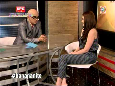 Bea Alonzo grilled on 'Ihaw Na!'