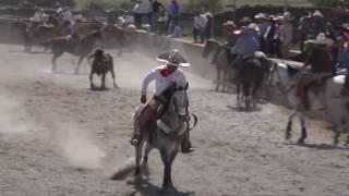 Coleaderos en San Isidro de Cabrales (Fresnillo, Zacatecas)