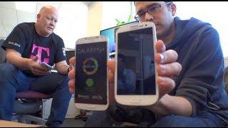 Samsung Galaxy S4 vs S3