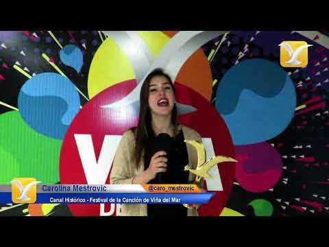 Carolina Mestrovic te invita a visitar el Portal Web Oficial del Festival de Viña del Mar