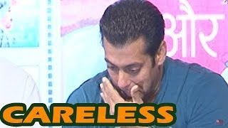 Is Salman Khan getting careless ?