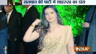 Arpita-Aayush's wedding reception: Entire Bollywood comes under one roof - INDIATV