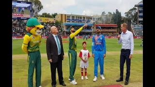 In Graphics: SA won the toss India bat 1st - ABPNEWSTV