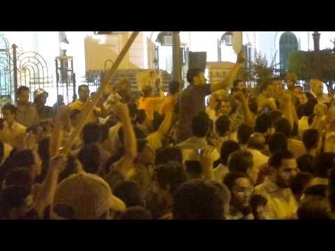 مظاهرات المنيا من اجل احداث امبابه