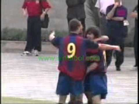 Messi 14 Years Old