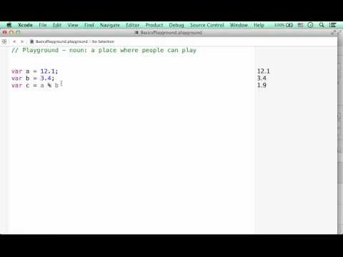 The % Remainder Operator in Swift