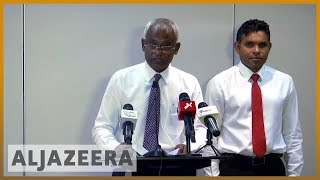 🇲🇻 Maldives opposition claims presidential election victory | Al Jazeera English - ALJAZEERAENGLISH