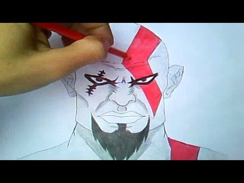 Como Desenhar Kratos (God of War)